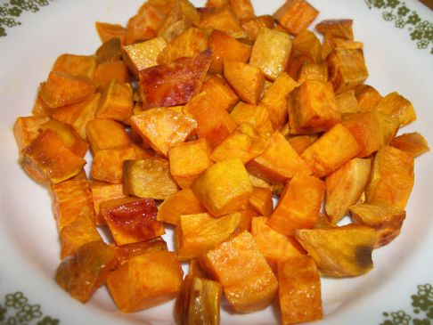 Oven Roasted Sweet Potatoes