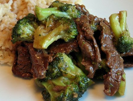 Easy Beef & Broccoli (soup mix)