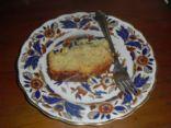 Lemon polenta cake