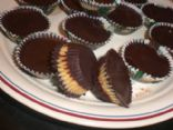 Quick, Easy, Healthy Chocolate Peanut Butter Cups!