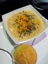 Loaded Baked Potato Soup for the Slow Cooker