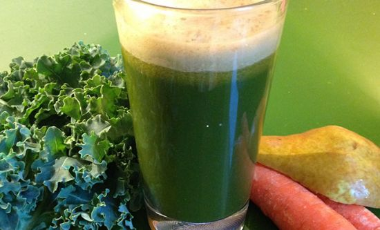 Green Carrot Ginger Juice
