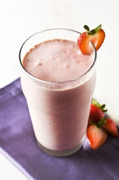 Strawberry Almond Butter Fast Release Shake
