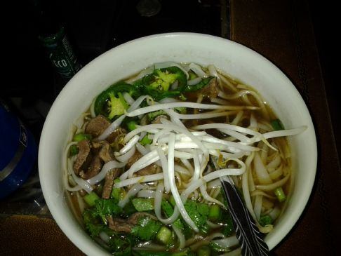 Pho Bo (Beef Noodle Soup) Recipe | SparkRecipes