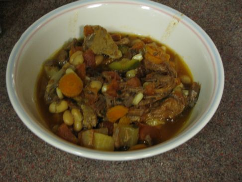 Crock pot Fresh Vegetable & Venison Stew
