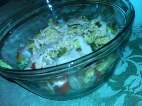 HG In-N-Homage Animal-Style Salad