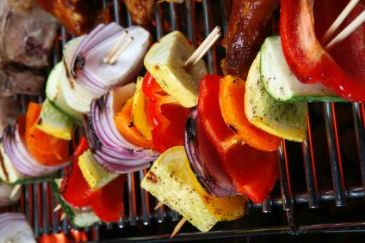 Veggie Kebabs