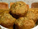 Healthy Banana Nut Oat Muffins
