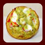 Spinach Crab Hummus Quichetatas