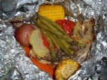 Campfire Chicken Packets
