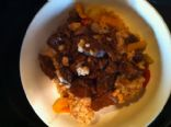 Teriyaki Steak and Cinnamon Brown Rice 