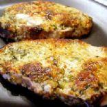 Italian Breaded Pork Loin Chops