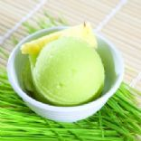 Pineapple Wheatgrass Sorbet