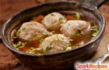Matzo Ball Soup in Herb Broth