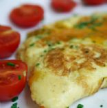 Ham and Green Pepper Omelette