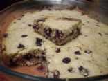 Whole Wheat Blueberry Sesame Seed Cake