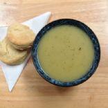 Potato, Leek, Onion and Zucchini Soup, Vegan