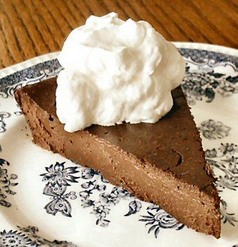 Chocolate Truffle Torte (Very Low Sugar/ Low Carb)