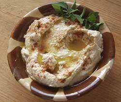 Hummus (no olive oil)