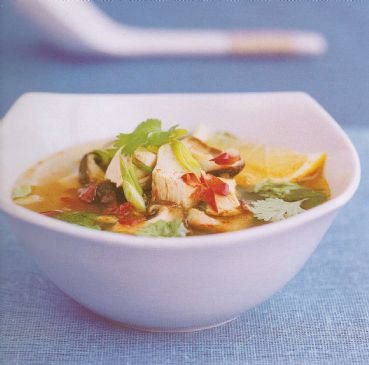 Thai Lemon grass, Chicken and Mushroom broth