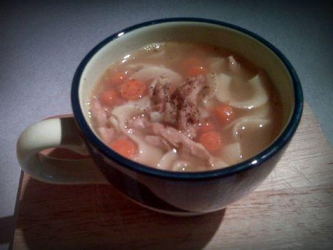 Swampwater's Rotisserie Chicken Noodle Soup