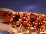 Bacon Wrapped Shrimp with Chipotle BBQ Sauce