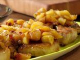 Pork Chops with Spiced Apple Sauce
