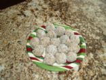Chia Snowball Cookies