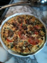 Turkey Veggie Frittata
