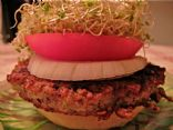 SproutPeople Bean Burger (Veggie Burger)