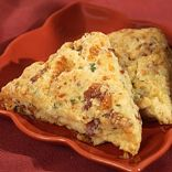 Bacon-Cheddar-Chive Scone
