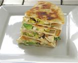 Chicken, Swiss, Avocado Quesadilla