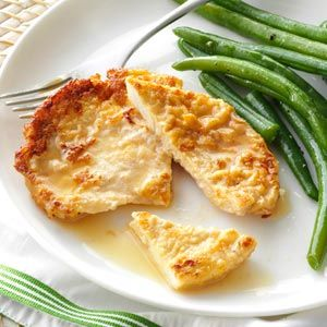 Turkey Cutlets with Lemon Sauce
