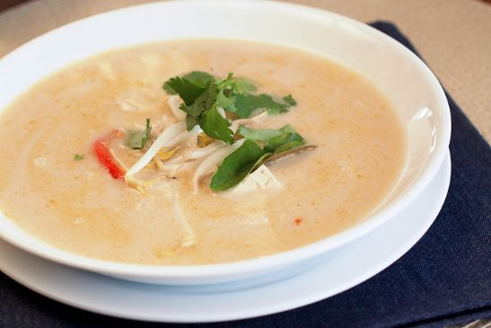 Tom Kha, Thai Coconut Milk Soup
