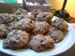 100 calorie Chocolate Walnut Cookies with Whole Wheat