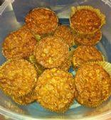 Pumpkin Pie Protein Muffins