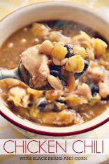 Black Bean Chicken Stew