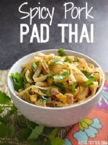 Spicy Pork Pad Thai
