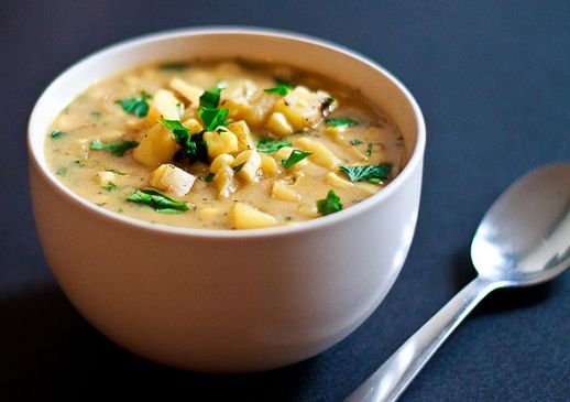 Corn and Potato Soup Recipe