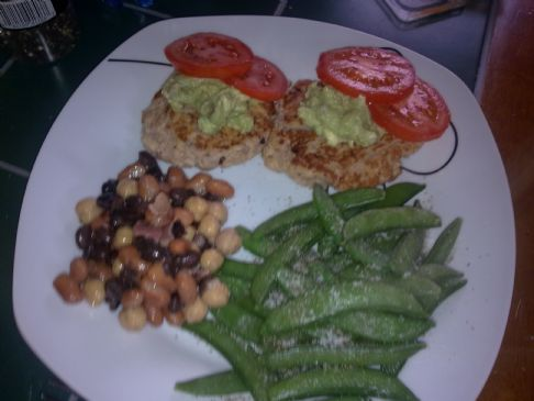 Bean and Salmon Patties