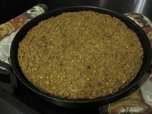 Baked Oatmeal with pumpkin and banana