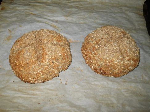 Healthy Oatmeal Quick Bread