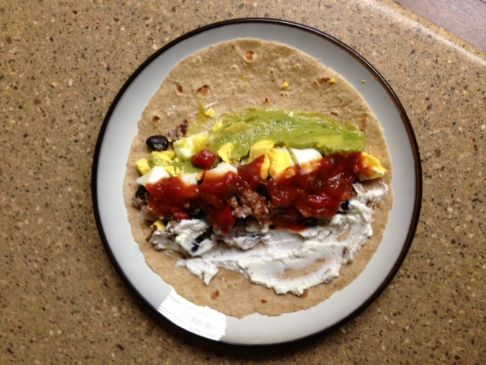 HealthWealth Breakfast Burrito