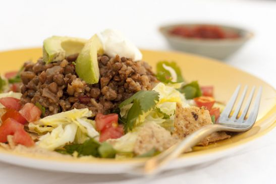 Slow Cooker Taco Lentils