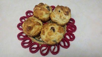 Applesauce Yogurt Berry Muffin