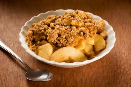 Bariatric Quik 'n' Easy Apple Crisp for One
