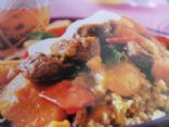 Lamb and apricot tagine with citrus couscous