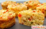 Coach Nicole's Mini Vegetable Frittatas