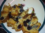 Baked Blueberry Almond Muffin French Toast