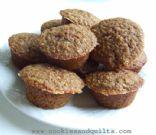 Flax Muffins - High Fiber, Low Carb, Glutten Free